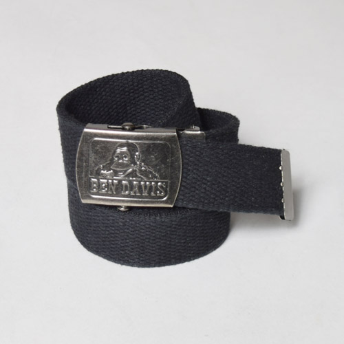 Ben Davis/Cotton Web Belt(ベンデイビス ベルト)ブラック [a-1581]