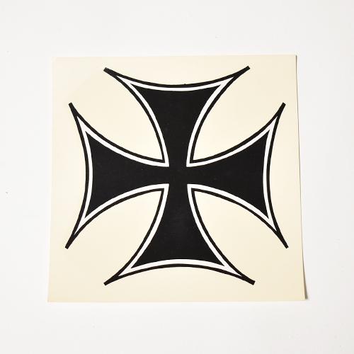 Iron Cross Decal Sticker/Deadstock(アイアンクロスステッカー) [a-4802]