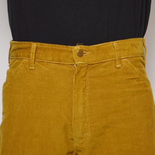 Smith's American×US/Summer Corduroy Shorts(スミス×アス コーデュロイショーツ)マスタード [a-0344]