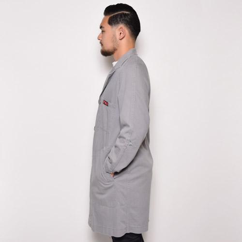 ・Vintage Europian Shop Coat(ヴィンテージ ショップコート)グレー/サイズ3 [u-8852]