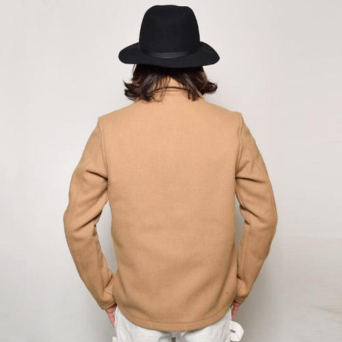 Fidelity/Wool Barn Shirt Jacket(フィデリティー ウールシャツジャケット)ベージュ [a-0573]