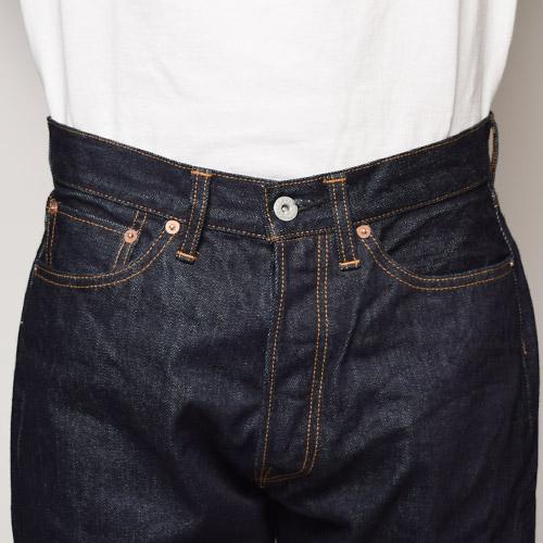 Forty Fine Clothing/MODEL A(フォーティファインクロージング デニムパンツ)リンスドインディゴ [n-5293]