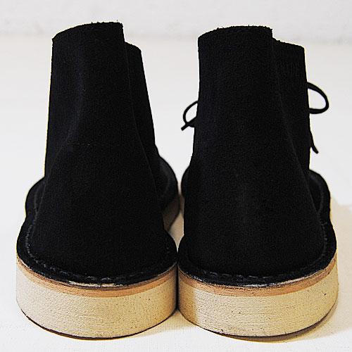 Clarks/US×Brass/Customized Desert Boots/Crape Sole(クラークス デザートブーツ)ブラック[n-6343]