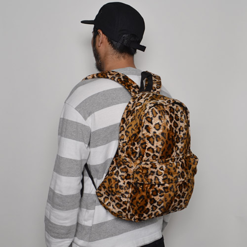 Wild Wallets×US/Fake Fur Back Pack(ワイルドウォレット×アス バックパック)レオパード [n-8111]