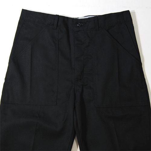 Universal Overall×US/3 Quarter Baker Pants(ユニバーサルオーバーオール×アス 7分ベイカーパンツ)ブラック [n-4311]