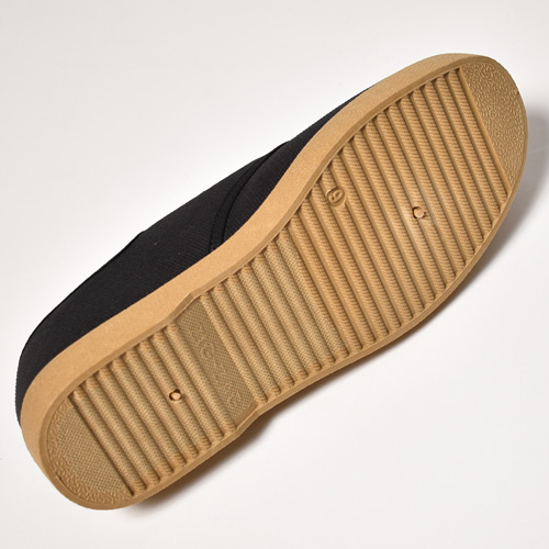 Zig-Zag Shoes/Winos Low(ジグザグシューズ スニーカー)ブラック×ベージュ [a-5313]