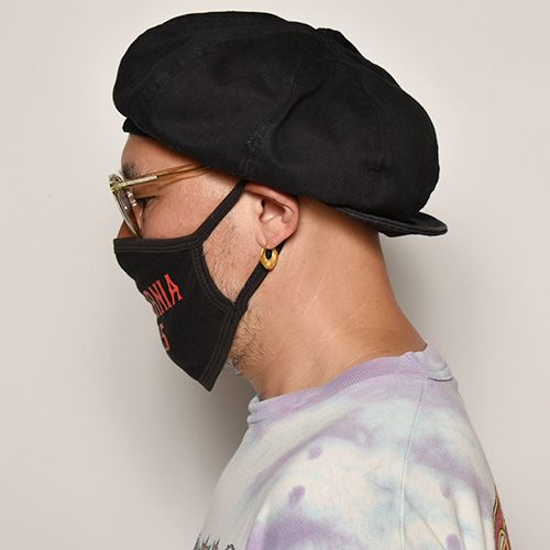 415 Clothing/California 415 Face Mask(415クロージング フェイスマスク)ブラック [a-3886]