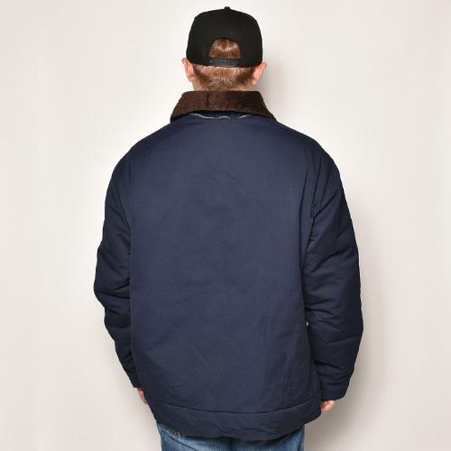 ・French Navy/Deck Jacket(フレンチネイビー デッキジャケット)ネイビー/身幅69cm [z-4909]