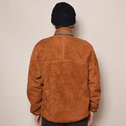 ・Patagonia/Retro-X Jacket(パタゴニア レトロエックスジャケット)ライトブラウン×ブラウン/サイズM相当 [z-2506]