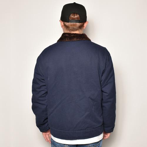 ・French Navy/Deck Jacket(フレンチネイビー デッキジャケット)ネイビー/身幅62cm [z-4910]
