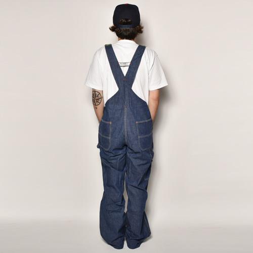 ・Made Well/Vintage Denim Bib Overall(メイドウェル デニムオーバーオール)インディゴ/サイズW37 [z-4347]