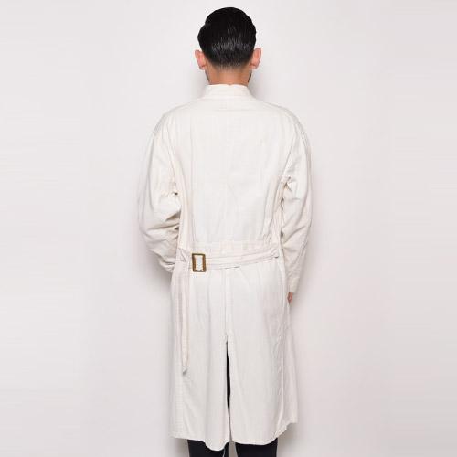 ・Vintage Shop Coat(ヴィンテージ ショップコート)ホワイト/サイズ42R [u-8840]