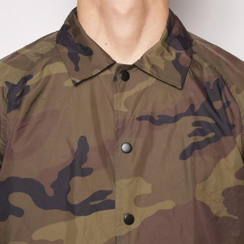 Beimar/Camouflage Coach Jacket(ビーマー コーチジャケット)ウッドランドカモ [a-1422]