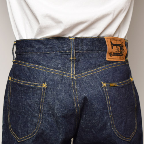 Forty Fine Clothing/MODEL B(フォーティファインクロージング デニムパンツ)リンスドインディゴ [n-5295]