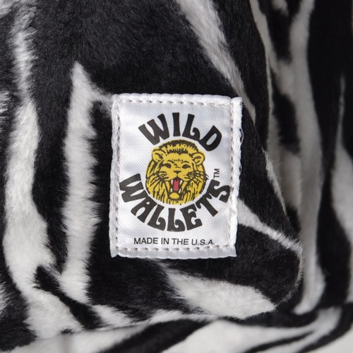 Wild Wallets×US/Fake Fur Back Pack(ワイルドウォレット×アス バックパック)ゼブラ [n-8112]