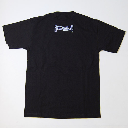 Bandit Brand×WTF×US/Eagle Logo T-shirt(バンディットブランド×ダブルティーエフ×アス Tシャツ)ブラック [n-5430]