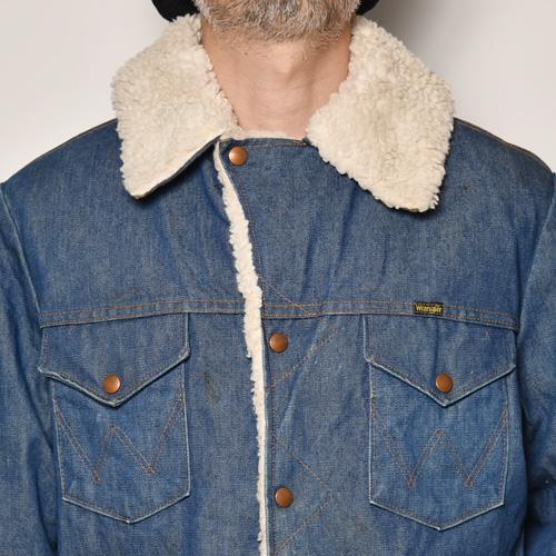 ・Wrangler/Riders Ranch Jacket(ラングラー ライダースランチジャケット)インディゴ/サイズL [z-4865]