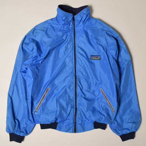 ・Patagonia/Big Tag Shelled Synchilla Jacket (パタゴニア ナイロンジャケット)ブルー/サイズL [z-2907]