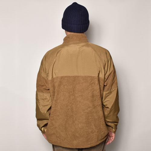 ・US Military/Gen2 ECWCS Fleece Jacket(USミリタリー ECWCSフリースジャケット)コヨーテ/サイズL/R [z-4643]