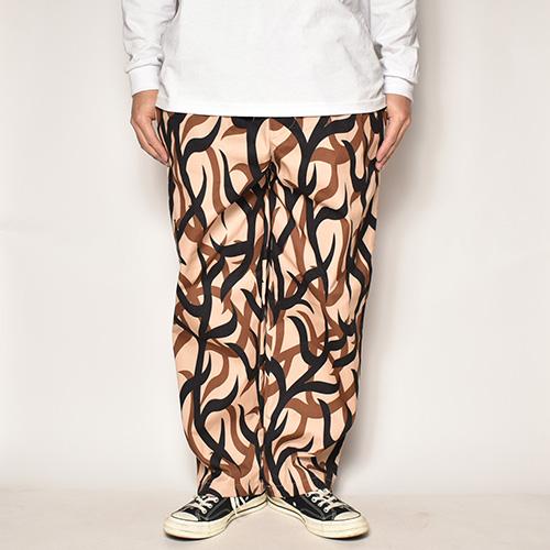Tribal Camo Wide Easy Pants(トライバルカモ ワイドイージーパンツ)トライバルカモ [a-4202]