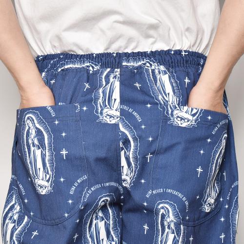 Guadalupe Easy Pants(グアダルーペイージーパンツ)ネイビー [a-4764]