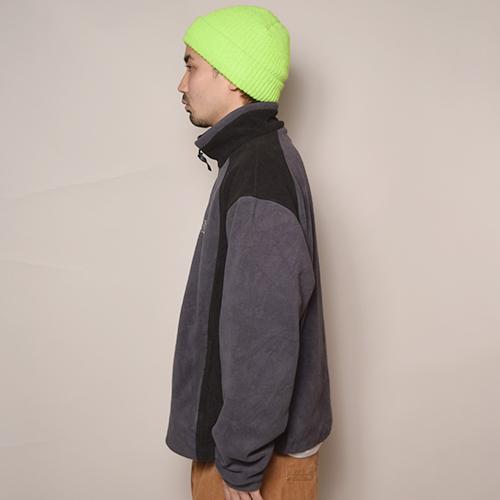 ・The North Face/Fleece Jacket(ノースフェイス フリースジャケット)グレー×ブラック/サイズXL [z-2348]