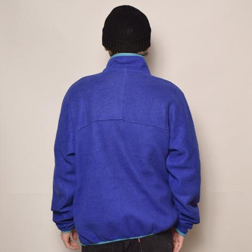 ・Patagonia/H/Z Synchilla Fleece Jacket(パタゴニア シンチラフリースジャケット)ブルー×ライトブルー/サイズXL [z-2515]