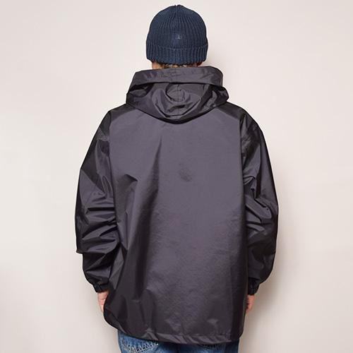 Comfy Outdoor Garment/Go Slowly Jacket(コンフィー フーデットコーチジャケット)ブラック [a-2627]