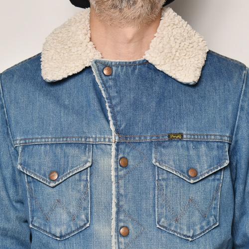 ・Wrangler/Riders Ranch Jacket(ラングラー ライダースランチジャケット)インディゴ/サイズM [z-4870]