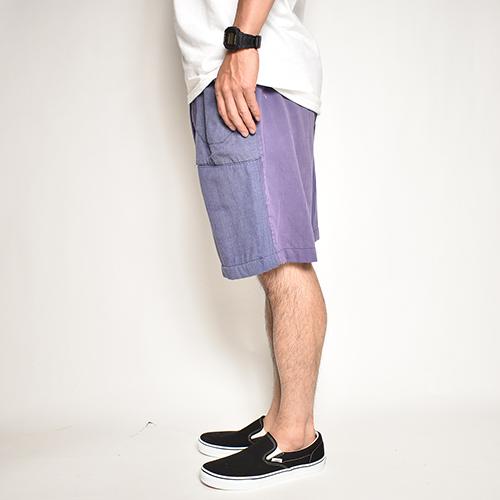 ・US Customized/EU Work Easy Shorts(アスカスタマイズ EUワークイージーショーツ)ネイビーブルー/サイズW32-40 [z-5522]