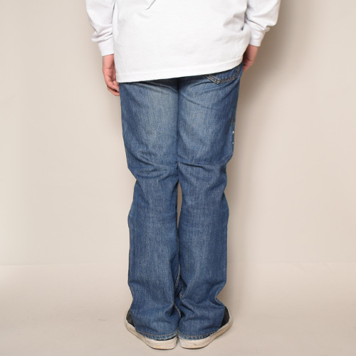 ・Levi's×US/Painted Customized 501 Jeans(リーバイス×アス ペイント501ジーンズ)インディゴ/サイズW32 [z-2918]