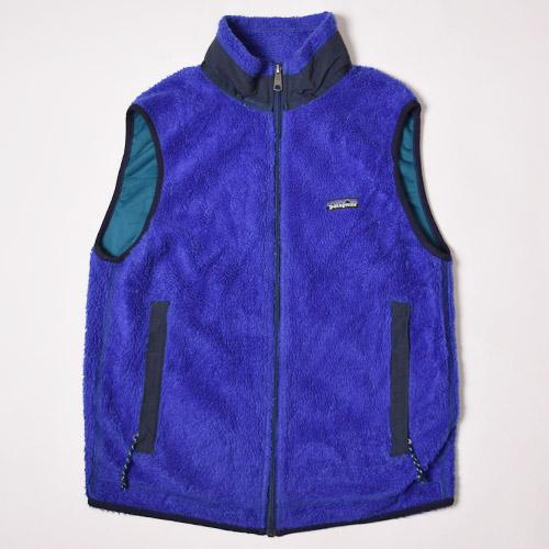 ・Patagonia/Retro-X Vest(パタゴニア レトロベスト)パープル×ブラック/サイズM [z-0177]