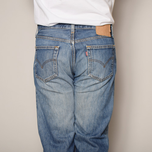 ・Levi's×US/Painted Customized 501 Jeans(リーバイス×アス ペイント501ジーンズ)インディゴ/サイズW32 [z-2919]