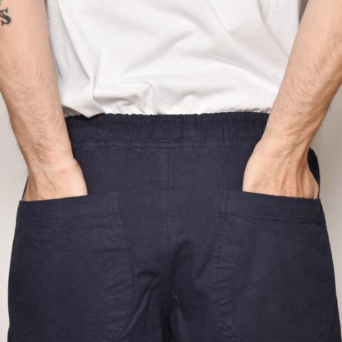 Chino Cloth Easy Short Pants(チノイージーショートパンツ)ネイビー [a-3840]