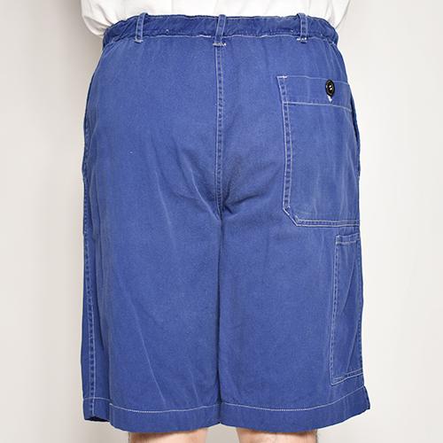 ・US Customized/EU Work Easy Shorts(アスカスタマイズ EUワークイージーショーツ)ネイビーブルー/サイズW30-34 [z-5524]