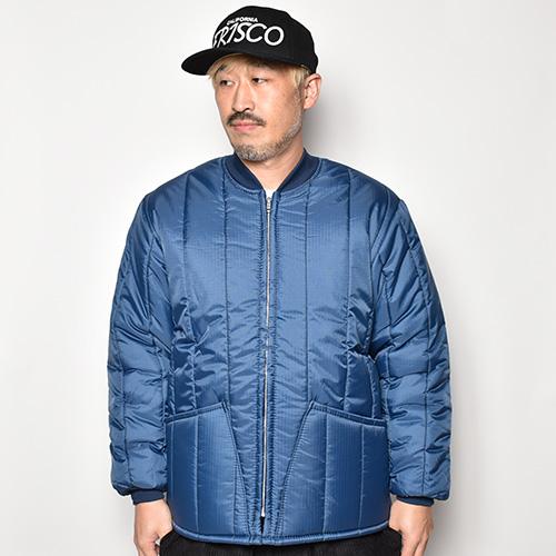 Samco Freezerwear/Quilted Cooler Jacket(サムコフリーザーウエア キルティングジャケット)ネイビーブルー [a-3493]
