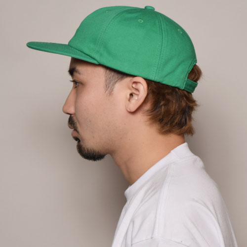 California Grizzly Bear/6Panel Cap(カリフォルニア・グリズリー キャップ)グリーン [a-3433]