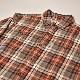 ・Carhartt/L/S Flannel Shirt(カーハート ネルシャツ)ブラウン×ホワイト×ブラック/サイズM [z-3367]