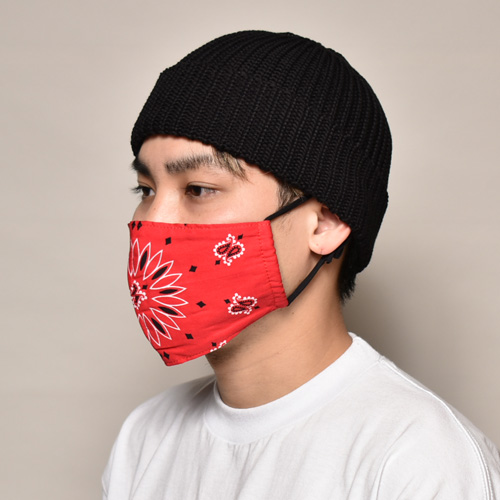 Bandanna Mask/Adult(大人用バンダナマスク)ペイズリー [a-3732]