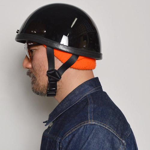 The American Novelty Helmet/Smokey Style(アメリカンノベルティーヘルメット スモーキー)ハイグロスブラック[n-6372]