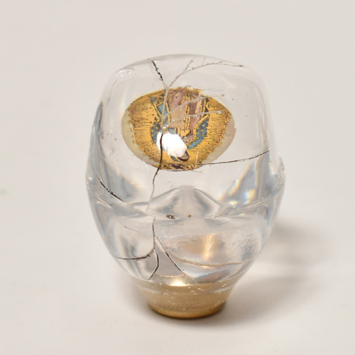 The Skull Shift Knob×Vintage Pins(スカルシフトノブ ビンテージピンズ) [a-4629]