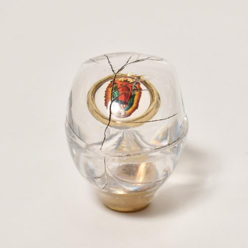 The Skull Shift Knob×Vintage Pins(スカルシフトノブ ビンテージピンズ) [a-4630]