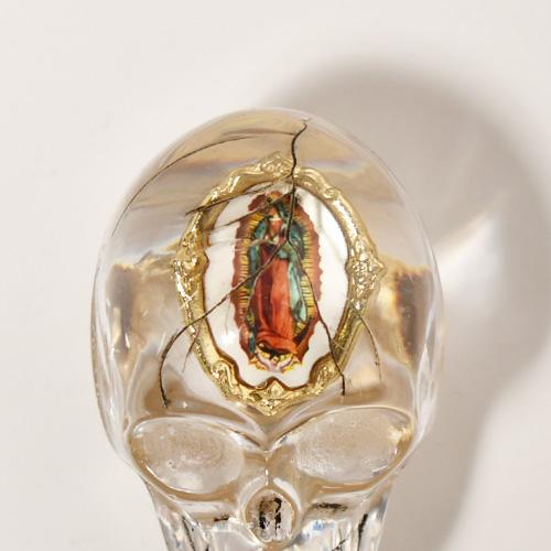 The Skull Shift Knob×Vintage Pins(スカルシフトノブ ビンテージピンズ) [a-4631]