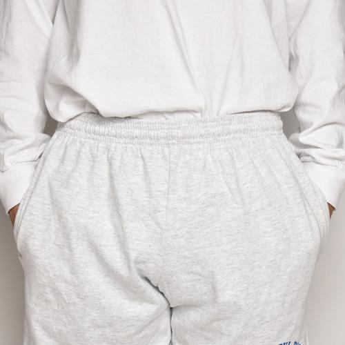 90's Dead Stock Grateful Dead/Cotton Elastic Shorts(グレイトフルデッド ショーツ)アッシュグレー [a-4860]