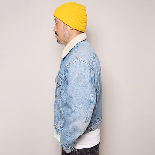 ・Levi's/Denim Boa Jacket(リーバイス デニムボアジャケット)インディゴ/サイズ42 [z-1372]