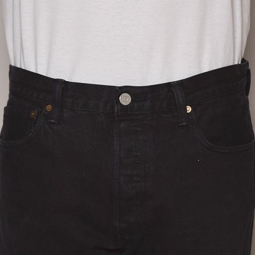 ・Levi's/501 Super Black Jeans(リーバイス 501デニムパンツ)ブラック [z-1620]
