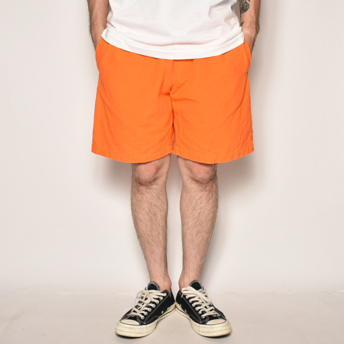Color Canvas Easy Short Pants(キャンバスイージーショートパンツ)オレンジ [a-3910]