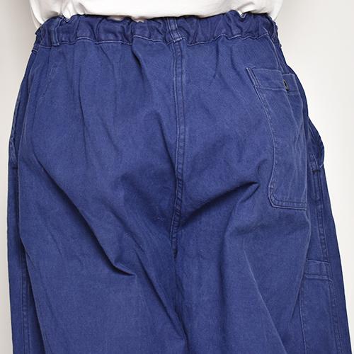 ・US Customized/EU Work Easy Pants(アスカスタマイズ EUワークイージーパンツ)ネイビーブルー/サイズW30-34 [z-5540]