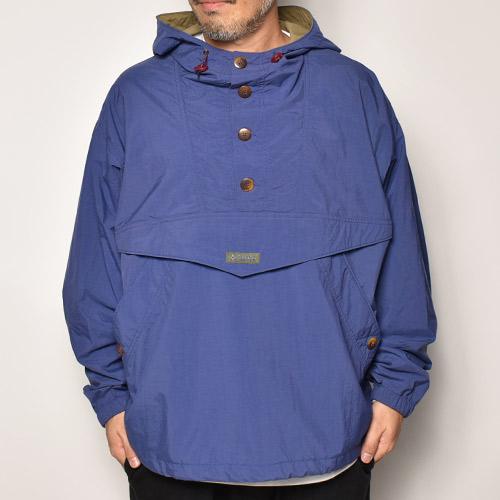 ・Columbia Sportswear/Nylon Anorak Jacket(コロンビア ナイロンジャケット)パープルブルー/サイズL [z-4565]