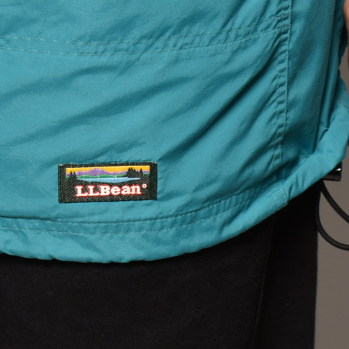 ・L.L.Bean/Nylon Anorak Jacket(L.L.ビーン ナイロンジャケット)エメラルドグリーン/サイズXL [z-4567]